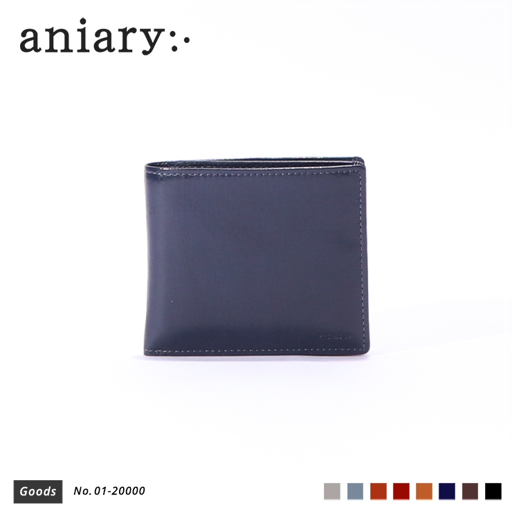【aniary|アニアリ】ウォレット Antique Leather 01-20000 Dark Blue