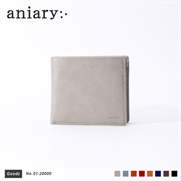 【aniary|アニアリ】ウォレット Antique Leather 01-20000 Light Gray