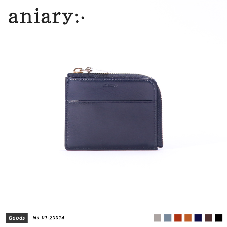 【aniary|アニアリ】コインケース Antique Leather 01-20014 Dark Blue