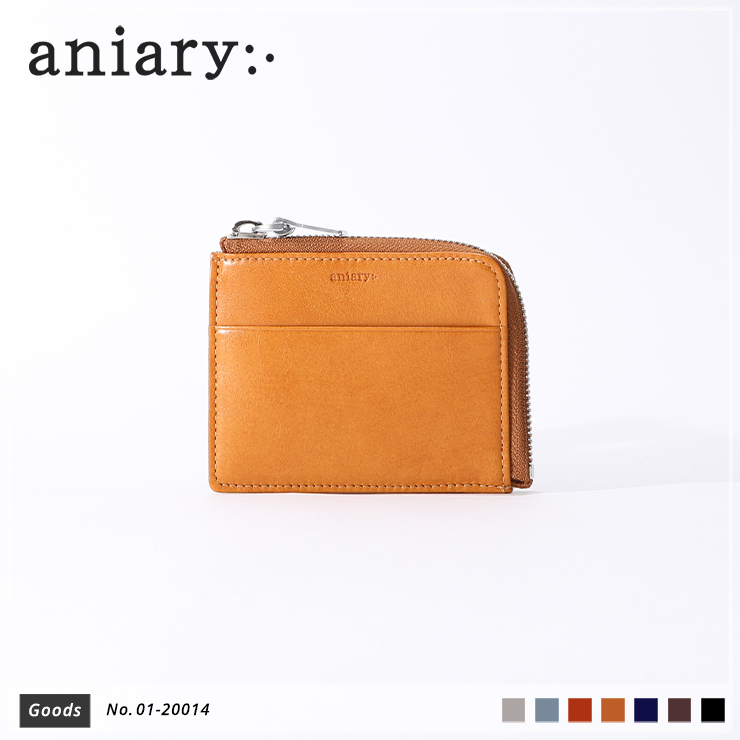 【aniary|アニアリ】コインケース Antique Leather 01-20014 Camel