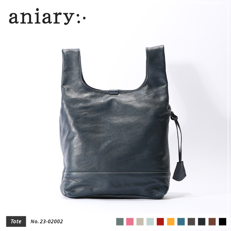 【aniary|アニアリ】トートバッグ Crossing Leather 23-02002 Navy
