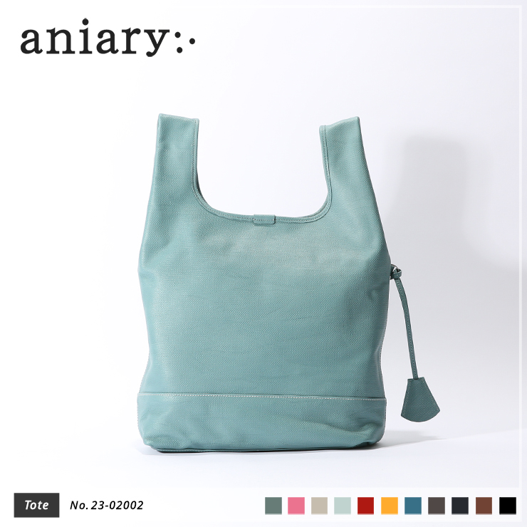 【aniary|アニアリ】トートバッグ Crossing Leather 23-02002 Blue Gray