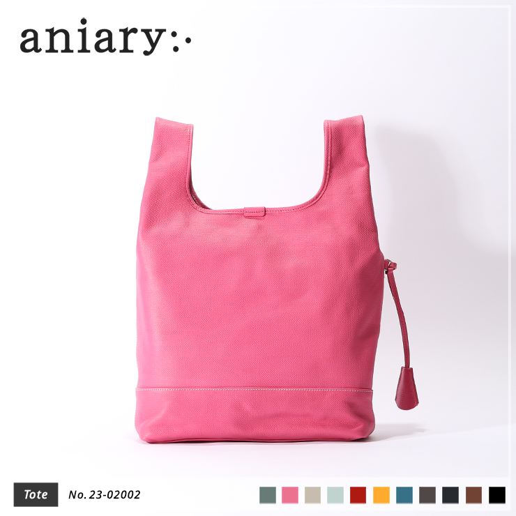【aniary|アニアリ】トートバッグ Crossing Leather 23-02002 Pink