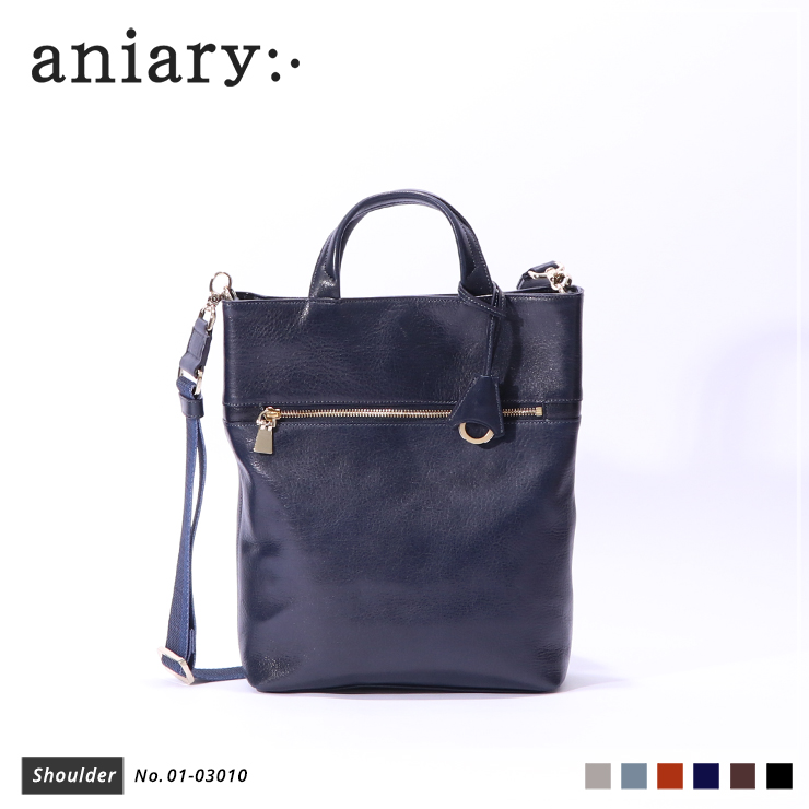 【aniary|アニアリ】ショルダーバッグ Antique Leather 01-03010 Dark Blue