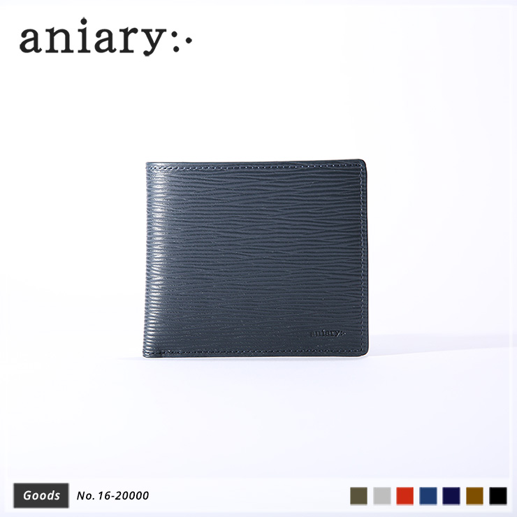 aniary ウォレット Wave Leather 牛革 GOODS 16-20000-dbl