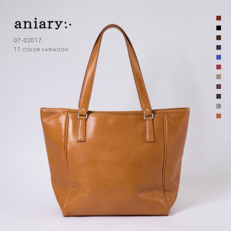 aniary トートバッグ Antique leather 牛革 Totebag 01-02017