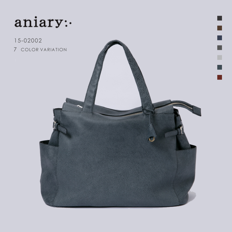 aniary アニアリ Grind Leather 牛革 トート Tote 15-02002