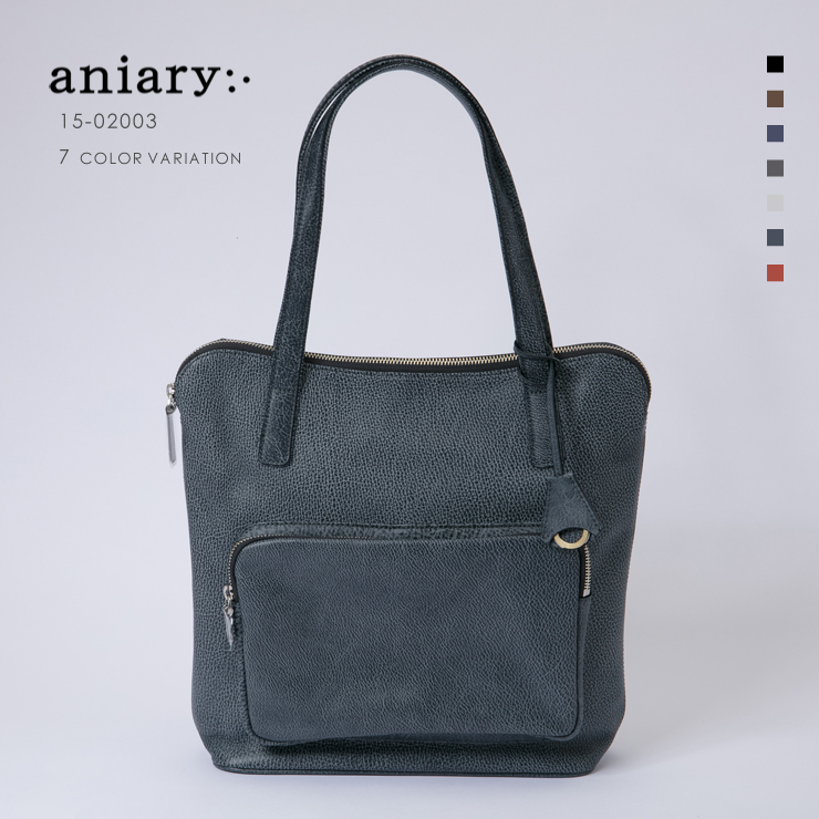 aniary アニアリ Grind Leather 牛革 Tote トート Tote 15-02003