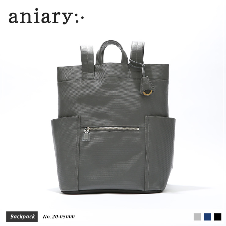 【aniary|アニアリ】バックパック Refine Leather 20-05000 Gray