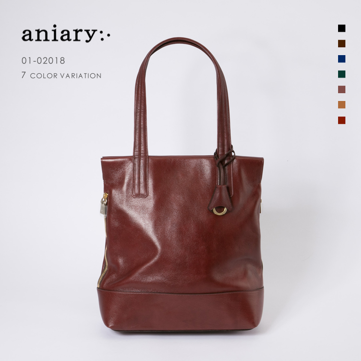 aniary アニアリ Tote トート Antique leather アンティークレザー 牛革  01-02018