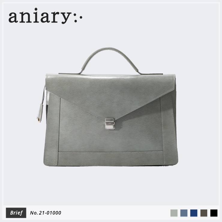 【aniary|アニアリ】ブリーフケース Inheritance Leather 21-01000 Gray